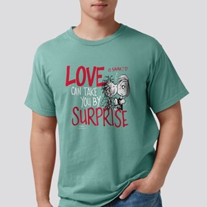 Peanuts - Love Can Take  Mens Comfort Colors Shirt