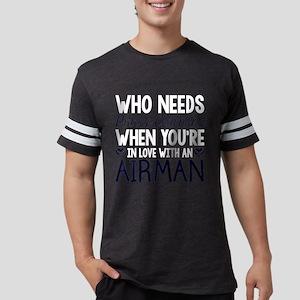 WHO NEEDS PRINCE CHARMING Mens Football Shirt