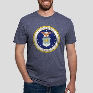 Air Force USAF Emblem Mens Tri-blend T-Shirt