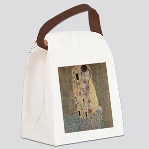Klimt - The Kiss Canvas Lunch Bag