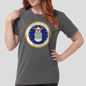 Air Force USAF Emblem Womens Comfort Colors Shirt