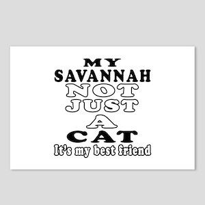 Savannah Cat Designs Postcards (Package of 8)