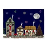 The Village at Christmas 5'x7'Area Rug
