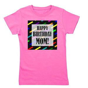 Happy Birthday Mom Kids T Shirts