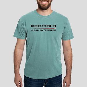 USS Enterprise-D Dark Mens Comfort Colors Shirt