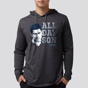 New Girl All Day Son Dark Mens Hooded Shirt