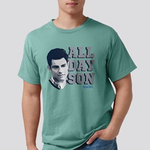 New Girl All Day Son Dar Mens Comfort Colors Shirt