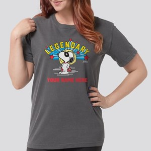 Personalizable Snoopy  Womens Comfort Colors Shirt