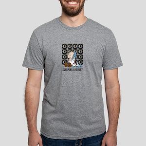 Linus sleeping soundly Mens Tri-blend T-Shirt