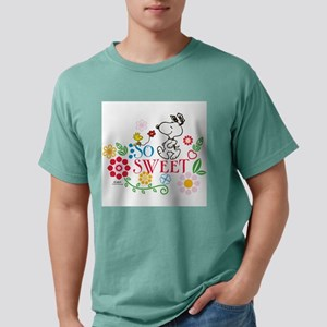 So Sweet - Snoopy Mens Comfort Colors Shirt