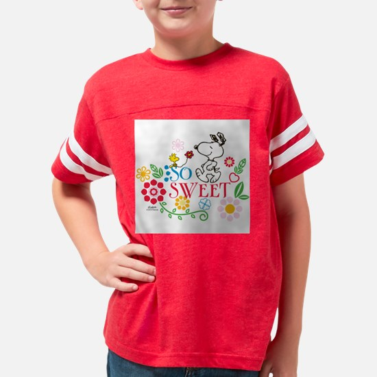 So Sweet - Snoopy Youth Football Shirt