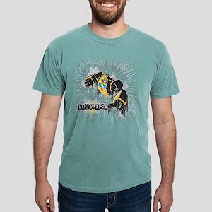 Transformers Comic Bumbl Mens Comfort Colors Shirt