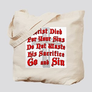 Go And Sin Tote Bag