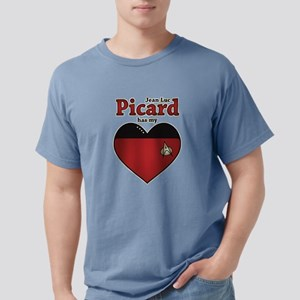 Jean-Luc Picard Heart Mens Comfort Colors Shirt
