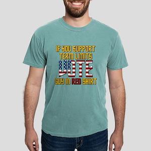 Star Trek Vote Guy in Re Mens Comfort Colors Shirt