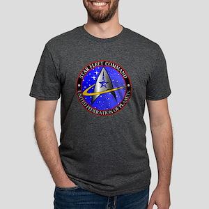 Star Fleet Command Mens Tri-blend T-Shirt