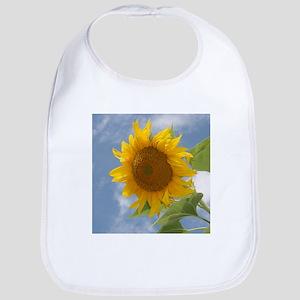 Sunflower sky Bib