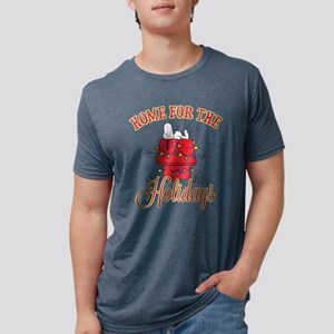 Home for the Holidays Mens Tri-blend T-Shirt