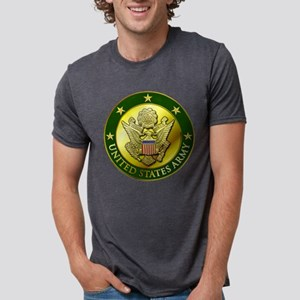GRN Embossed Mens Tri-blend T-Shirt