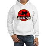 Jurassic Pork Hooded Sweatshirt