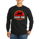 Jurassic Pork Long Sleeve Dark T-Shirt