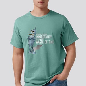 Futurama Bender Immortal Mens Comfort Colors Shirt