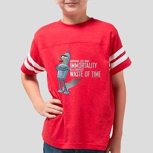 Futurama Bender Immortality D Youth Football Shirt