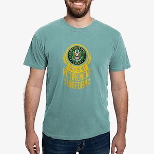 Army Retirement Uniform Mens Comfort Colors Shirt
