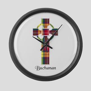 Cross - Buchanan Large Wall Clock