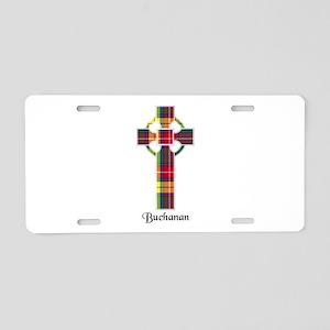Cross - Buchanan Aluminum License Plate