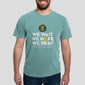 Army We Wait Hope Pray Mens Comfort Colors Shirt