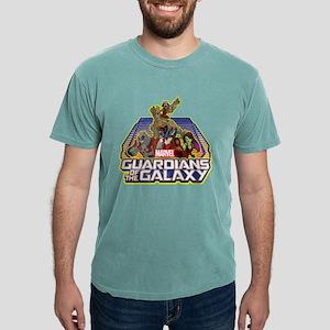 GOTG Team Retro Distress Mens Comfort Colors Shirt