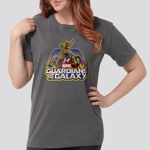GOTG Team Retro Distre Womens Comfort Colors Shirt