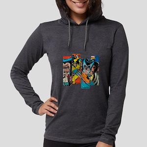 Wolverine Panel Womens Hooded Shirt