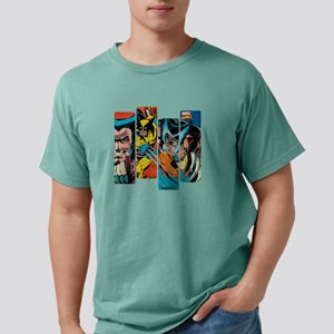 Wolverine Panel Mens Comfort Colors Shirt
