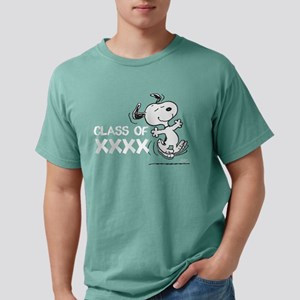 Snoopy Class of XXXX Mens Comfort Colors Shirt