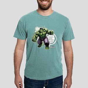 Avengers Hulk Fists Mens Comfort Colors Shirt