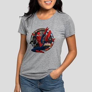 Web Warriors Spider-Girl Womens Tri-blend T-Shirt