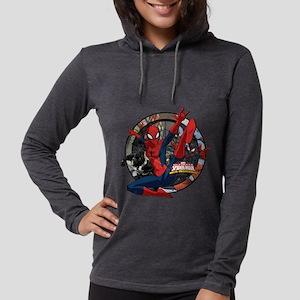 Web Warriors Spider-Girl Womens Hooded Shirt