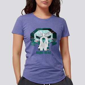 The Punisher Personalized Womens Tri-blend T-Shirt