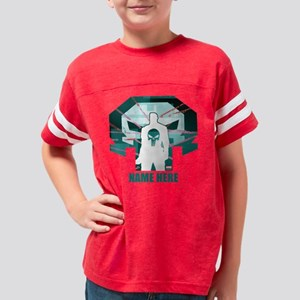 The Punisher Personalized Youth Football Shirt