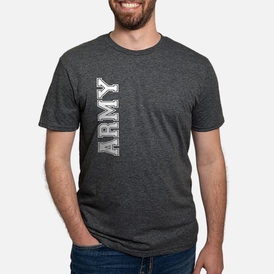 Army verticle black t Mens Tri-blend T-Shirt