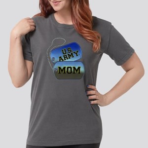 U.S. Army Mom Dog Tags Womens Comfort Colors Shirt