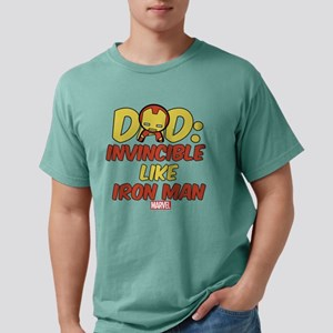 Invincible Iron Man Dad Mens Comfort Colors Shirt