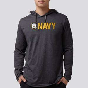 U.S. Navy: Navy Mens Hooded Shirt
