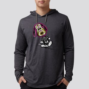 Day of the Dog Snoopy Dark Mens Hooded Shirt