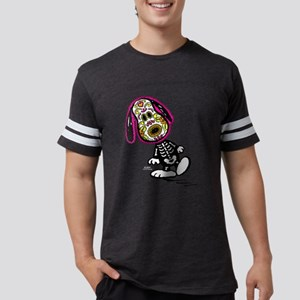 Day of the Dog Snoopy Dark Mens Football Shirt