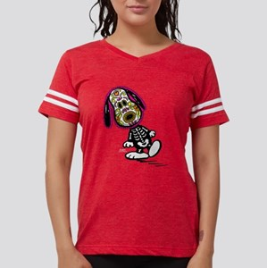 Day of the Dog Snoopy Dark Womens Football Shirt