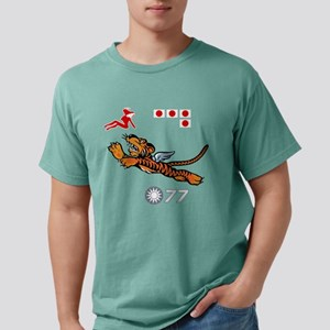 flying-tigers- drk Mens Comfort Colors Shirt