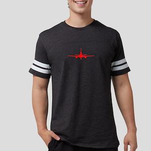 kc-10 red Mens Football Shirt